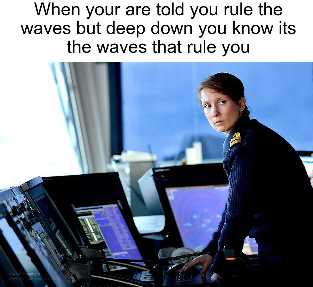 Join the navy they said