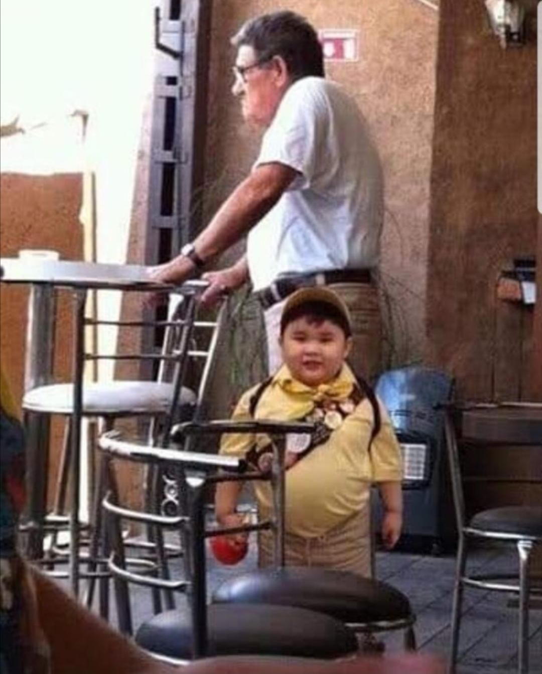 Real life Up Movie