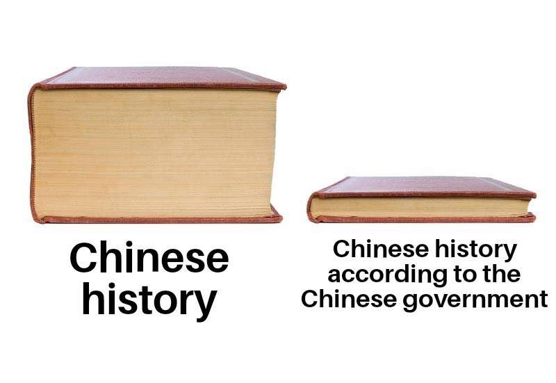 Chinese History according to the CCP