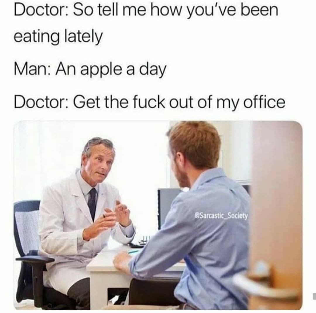 The doctor isn't patient apparently