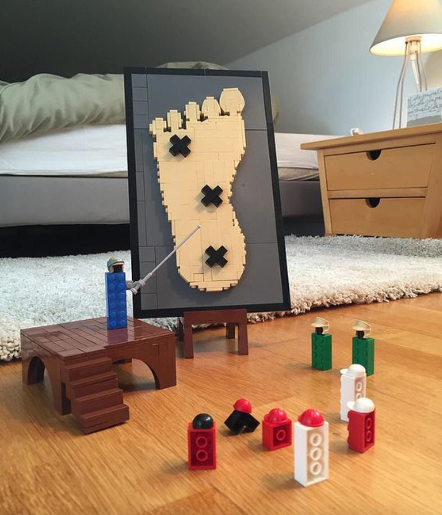 Legos plotting the demise of humanity.