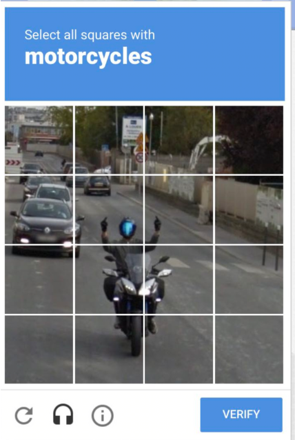 My friend got this Captcha!