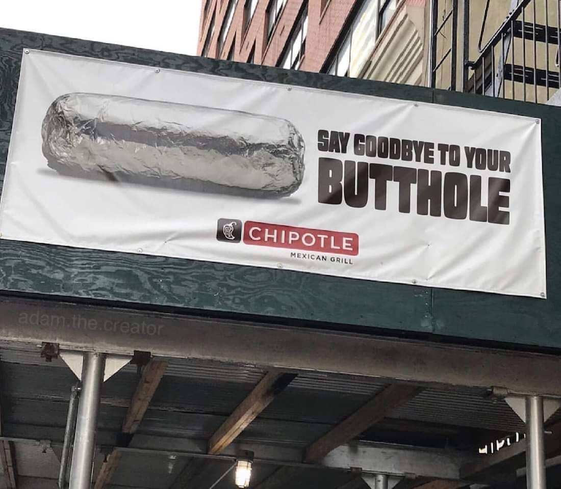 Chipotle's new slogan