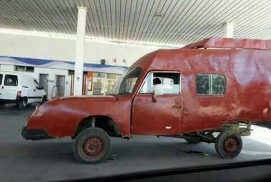 The car every single human drew in kindergarten actually exists!