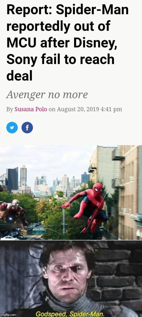 No Mr Stark... I'm Spider-Man no more (this truly sucks)
