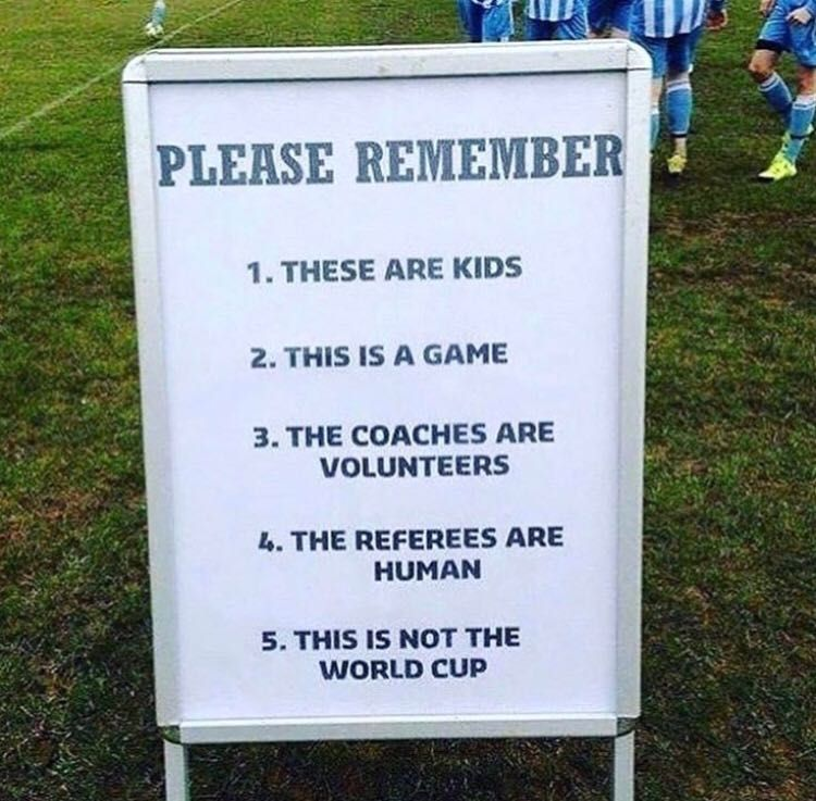 For Parents at their Kid's Soccer Games
