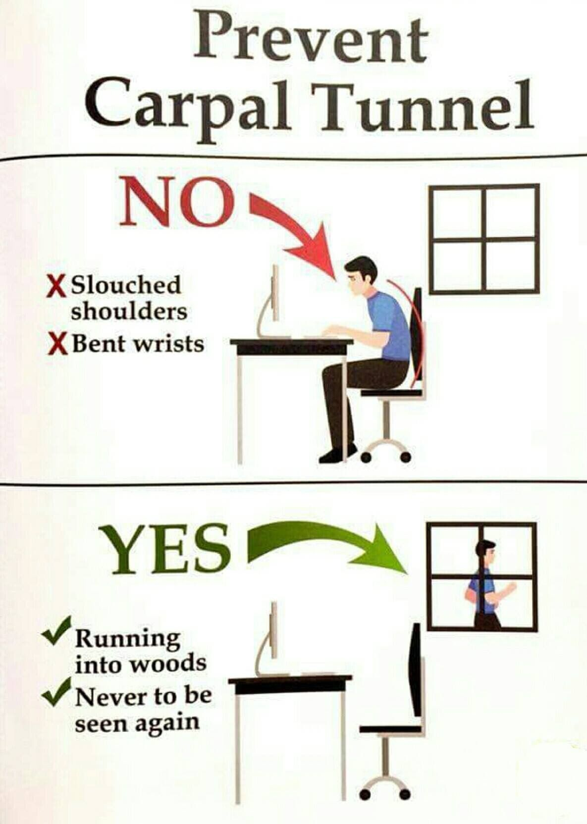 Avoid the pain in two easy steps