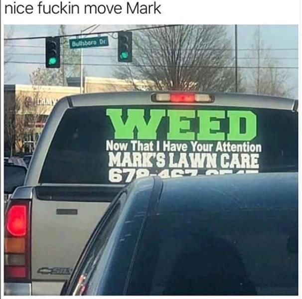 Way to go Mark