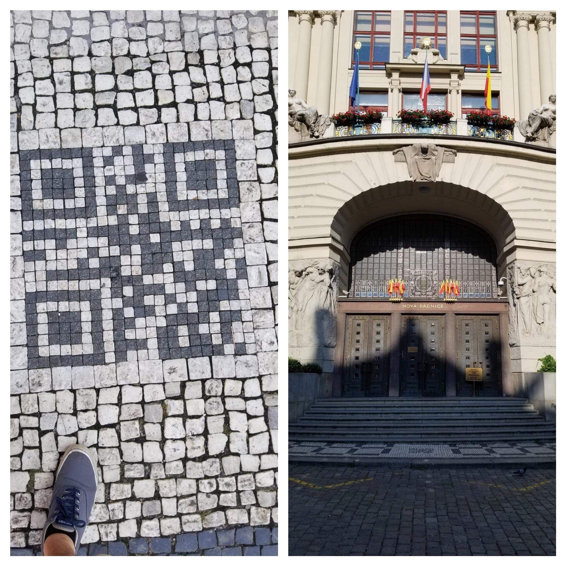 Some Prague city worker figured out how to troll tourists IRL.