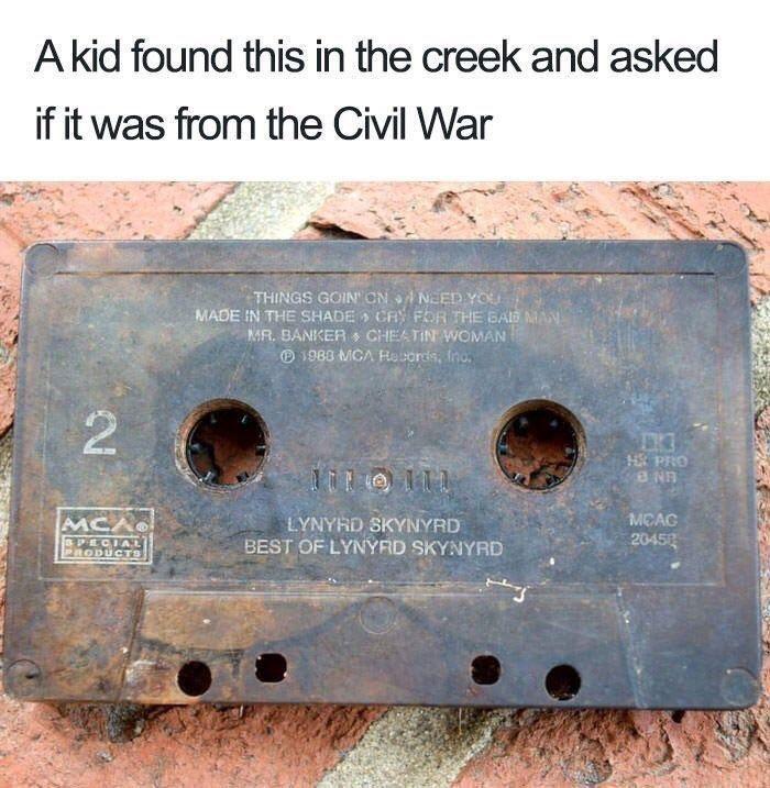 The Civil War? Come on!