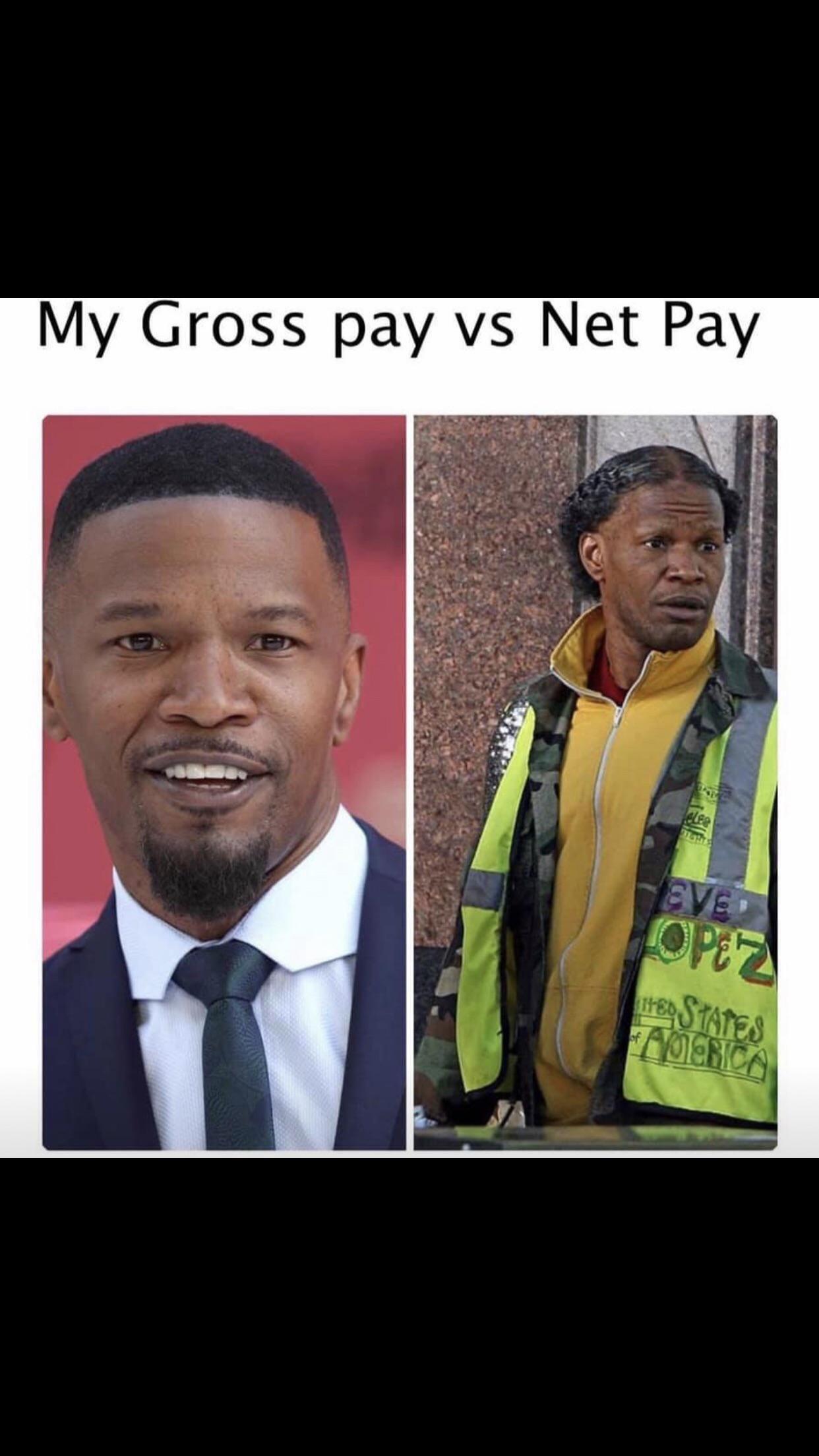 Gross pay vs net pay