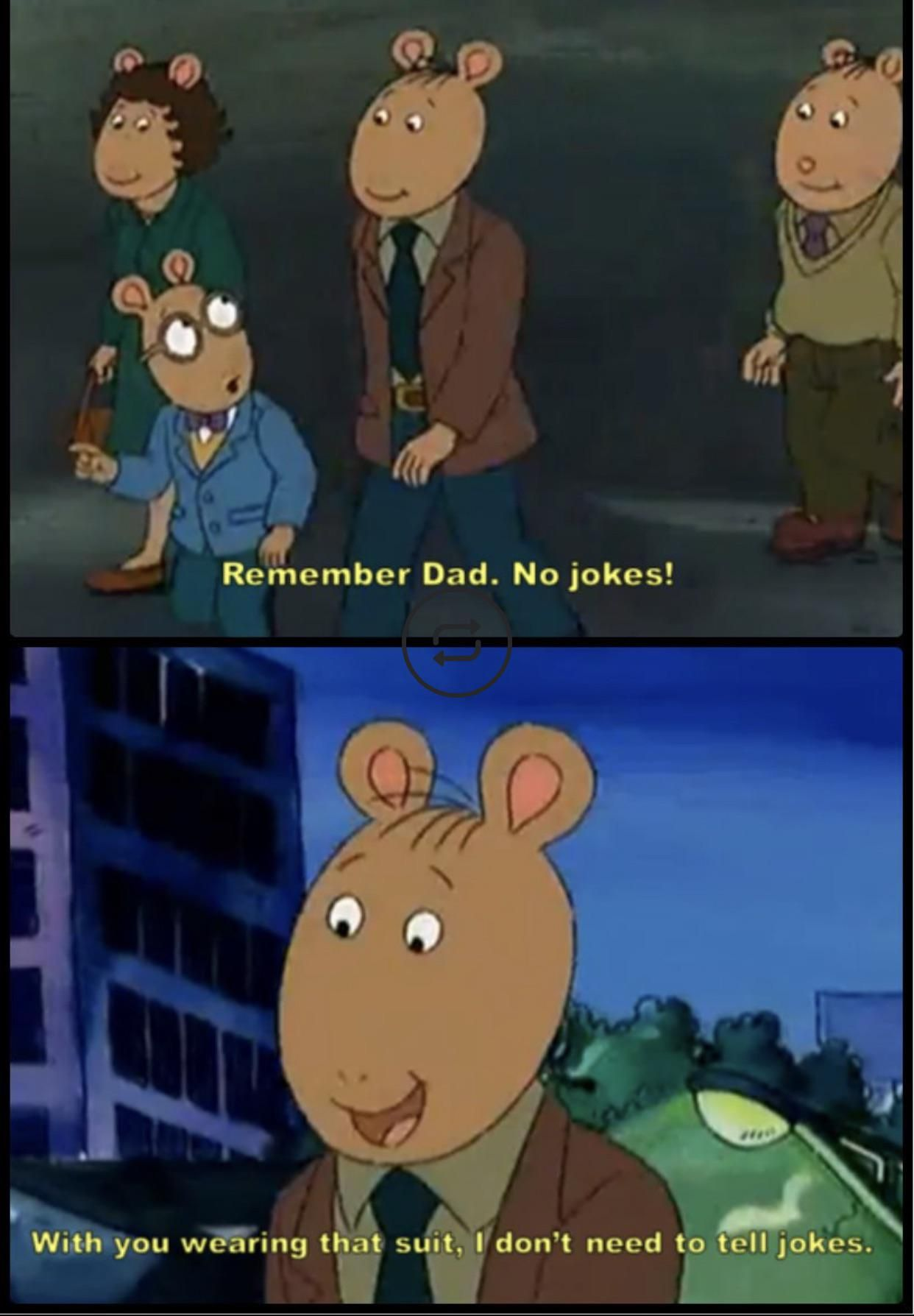 Arthur's Dad is an ***