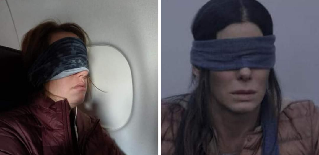 A friend was on a flight and fell asleep, he woke up next to Sandra Bullock.