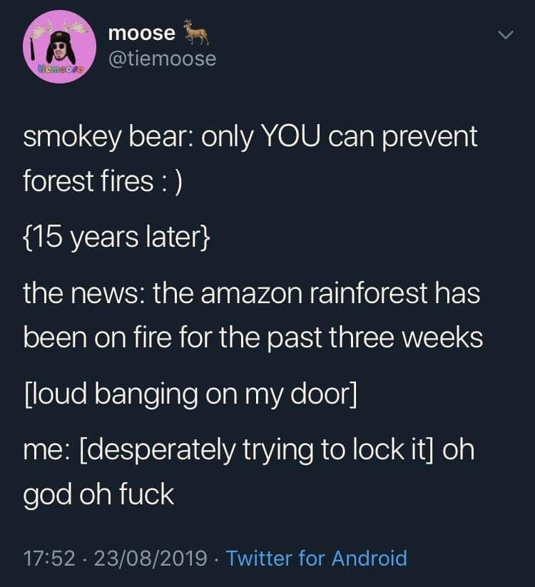 Smokey is coming for ya