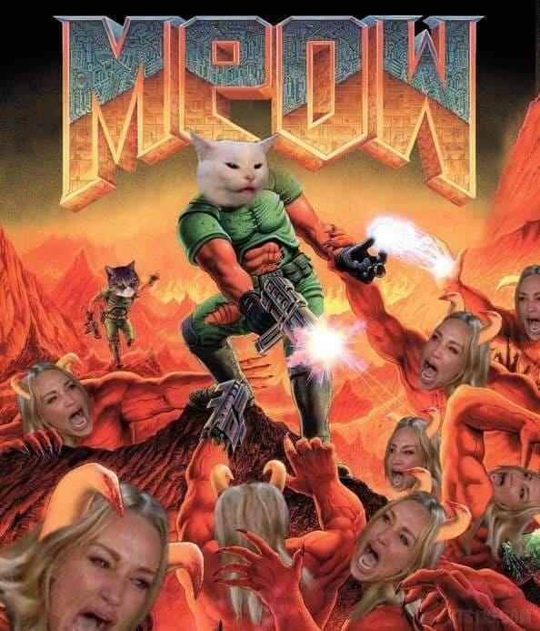 Angry meow