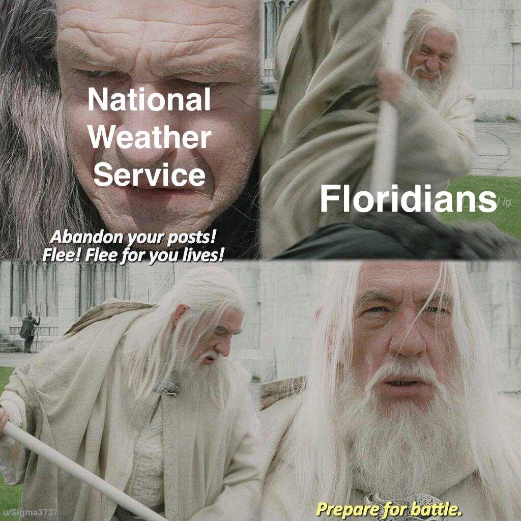 Florida handles weather a bit different