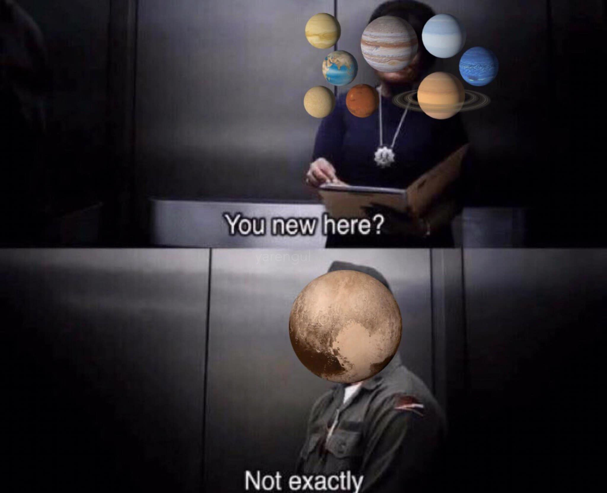 NASA announced Pluto is now considered a planet.