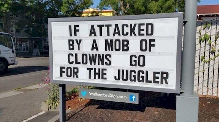 Always go for the juggler