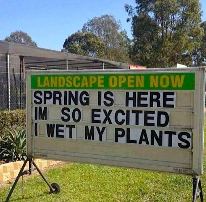 Gets me every Spring haha.