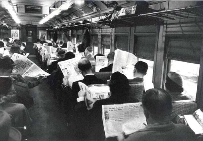 The good old days before all this technology made us anti social