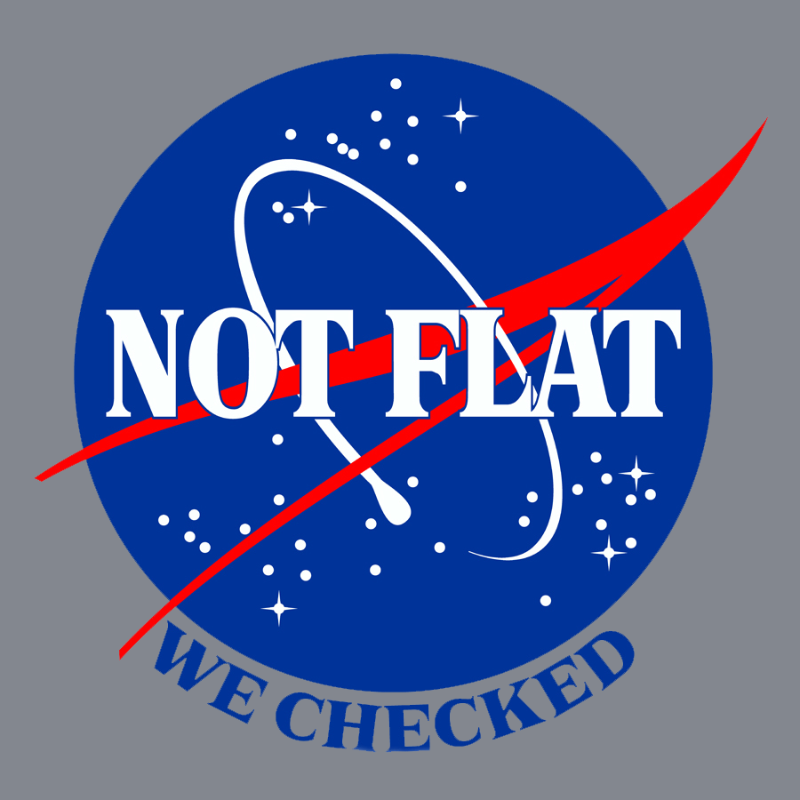 Not Flat, We Checked.