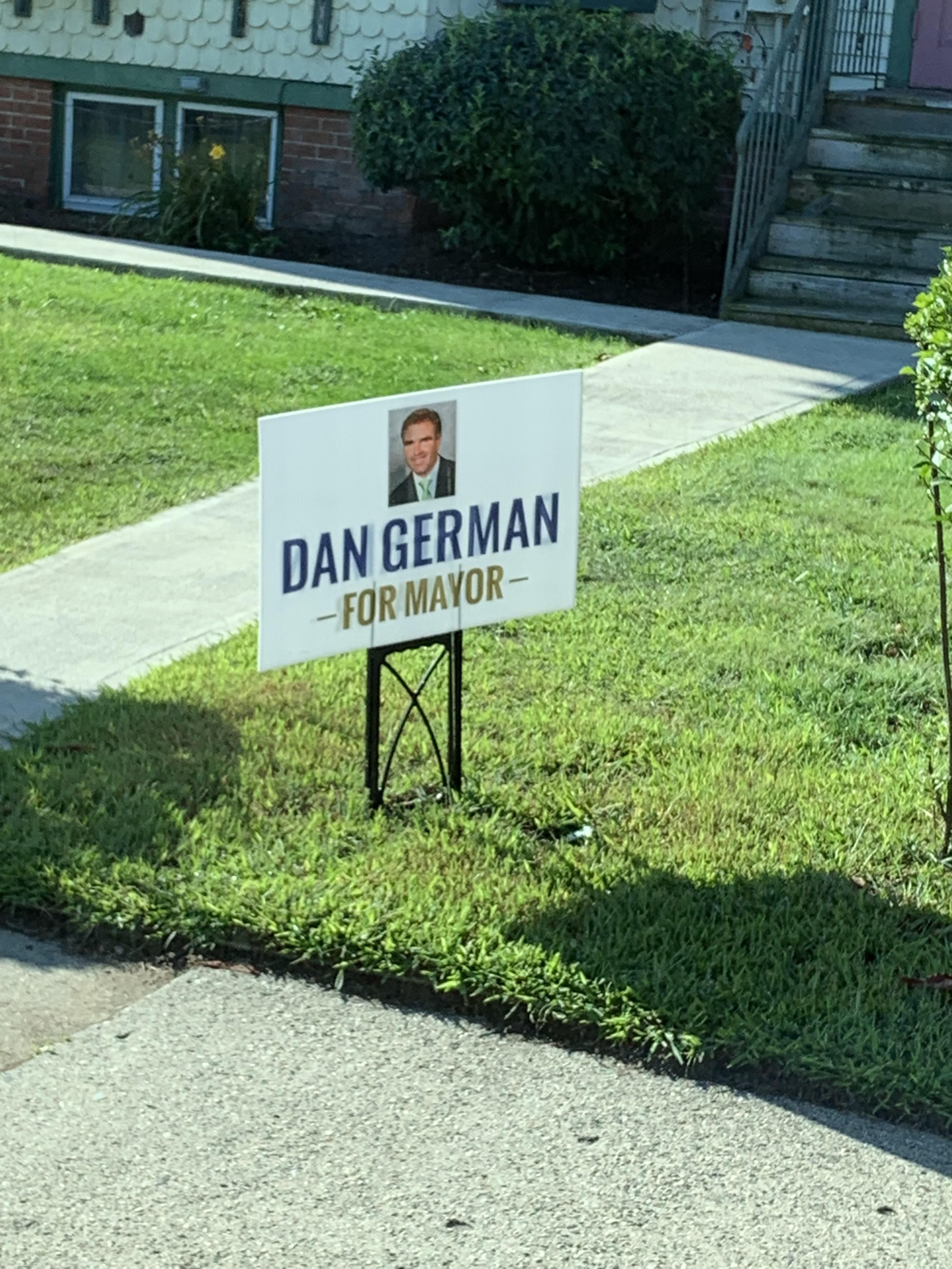 Maybe let's not elect someone named Danger Man...
