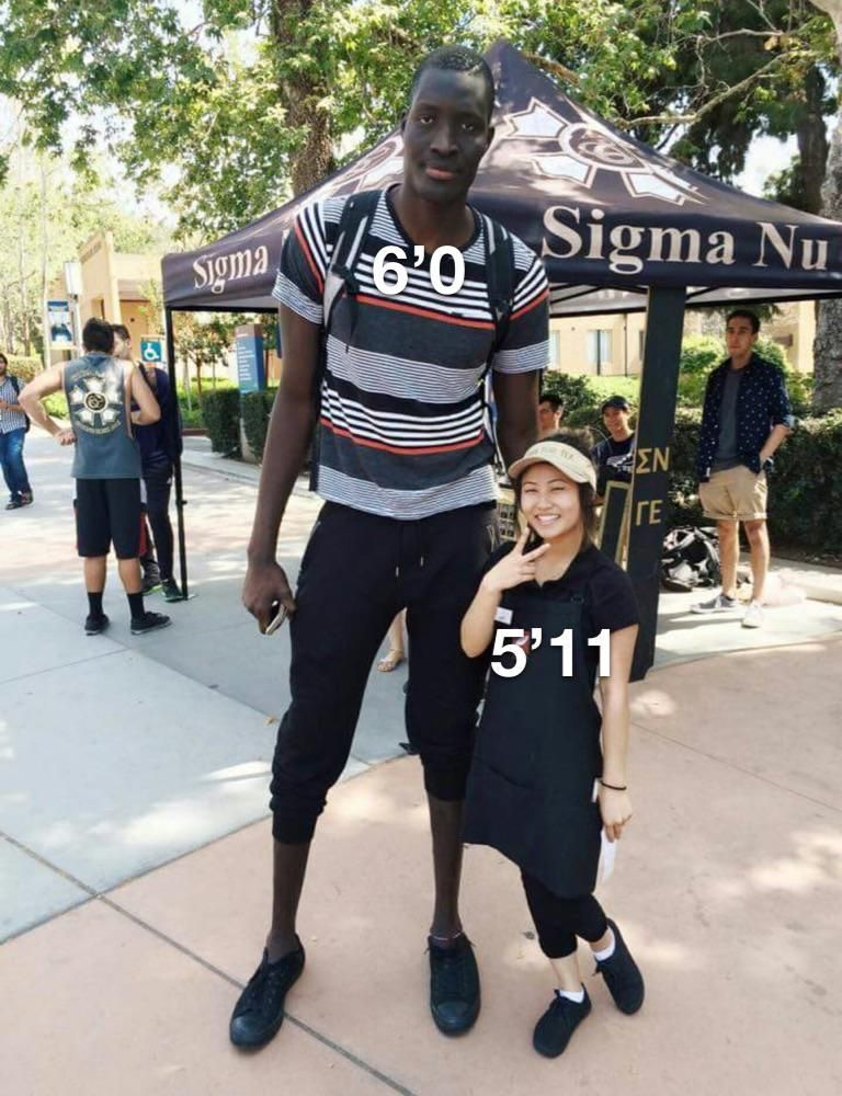 How tinder girls see height .