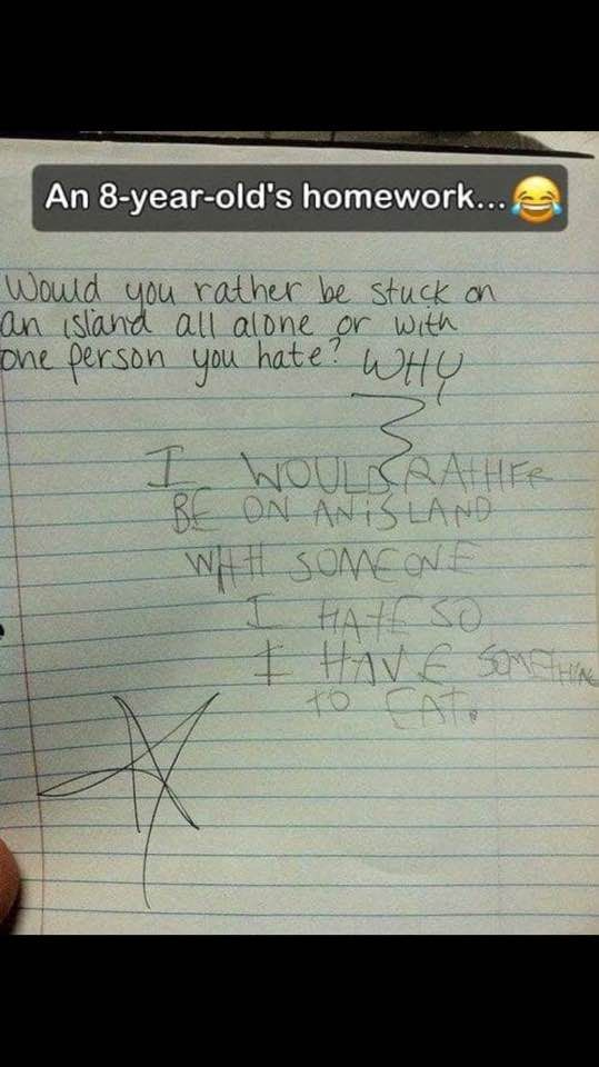 Kid's not wrong