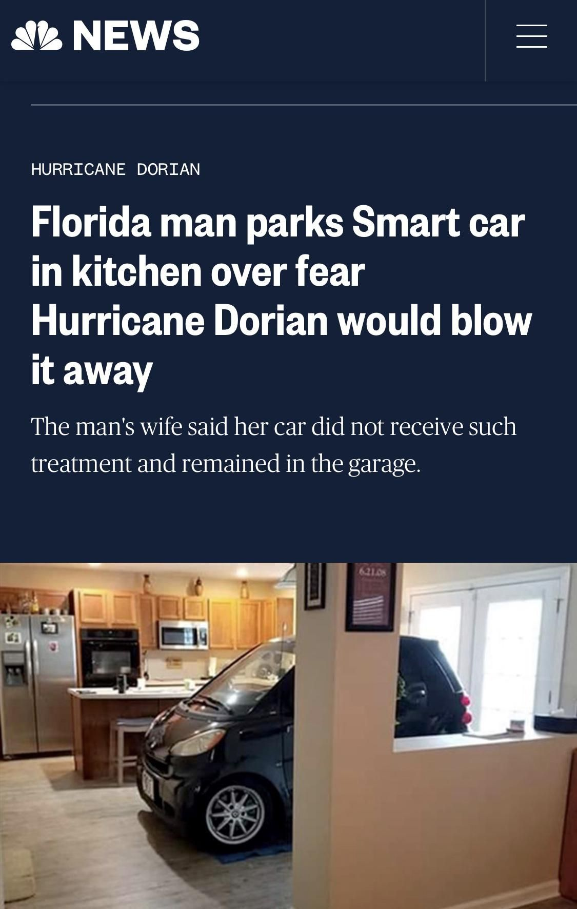 Even when he's not breaking laws and taking mugshots, Florida Man is still pretty crazy.