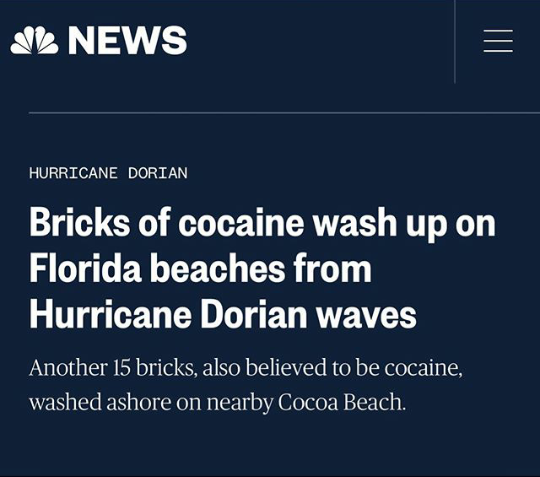 I call that a HurriCocaine.