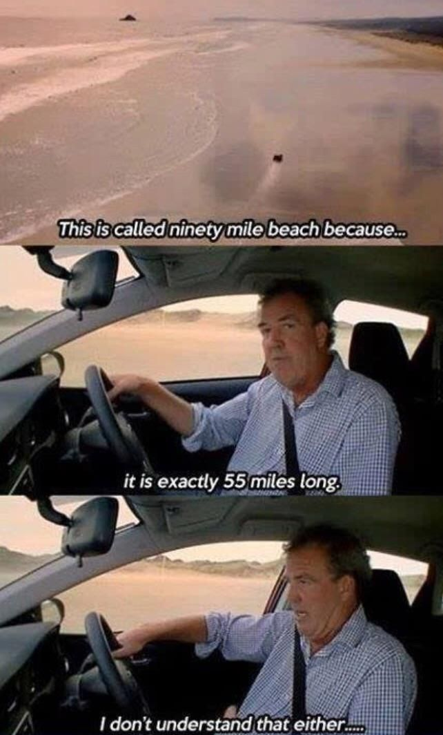 Not even Jeremy Clarkson's genius can figure that out