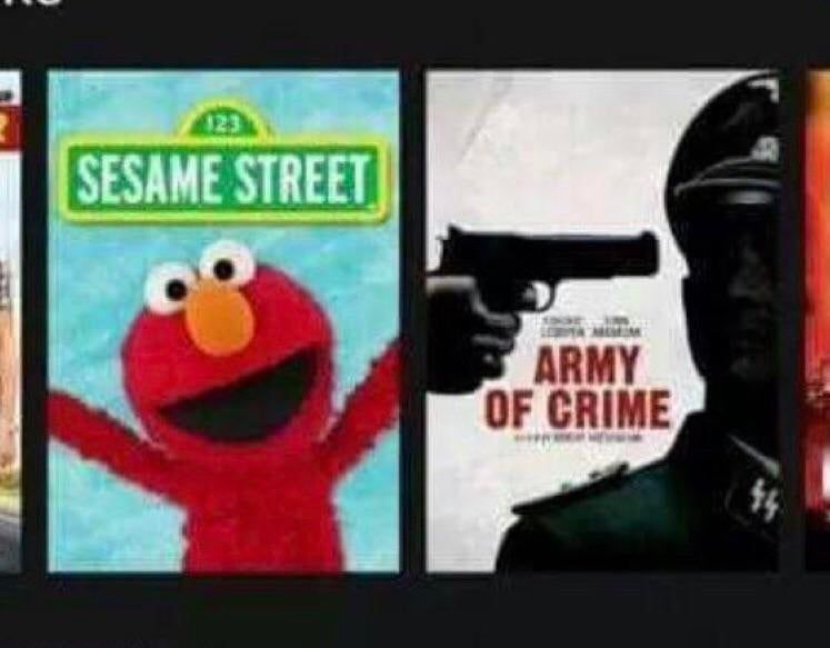 Elmo! No!
