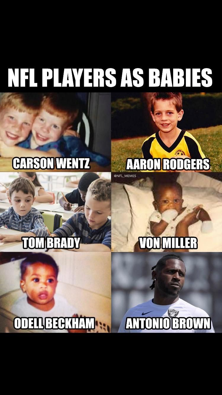 NFL Players as babies.