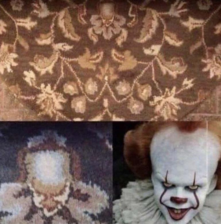 Grandmas carpet.