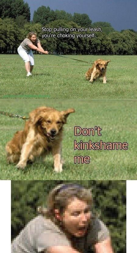 Dogs got kinks too