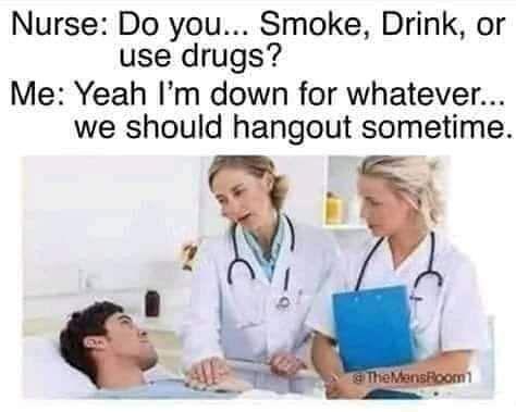 Next time on hospital hookups...
