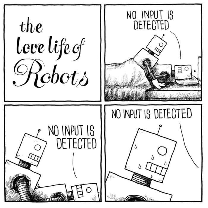 The Love Life of Robots