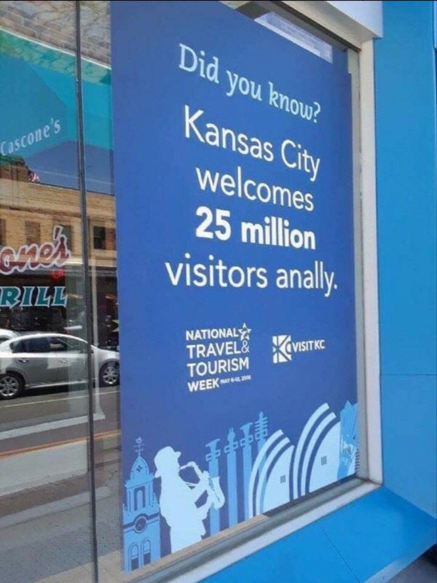 Thats a lot... kansas city is a ***!