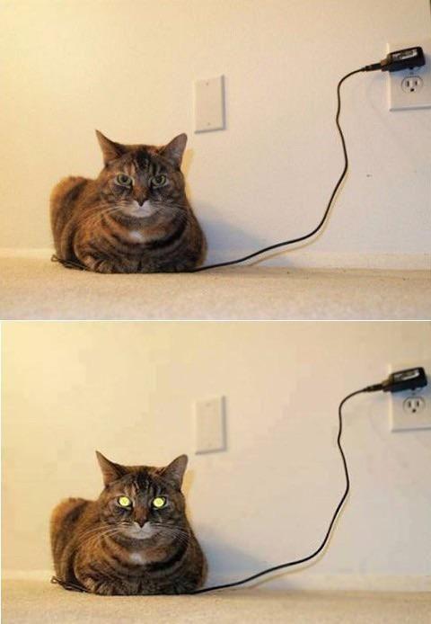 Charging.