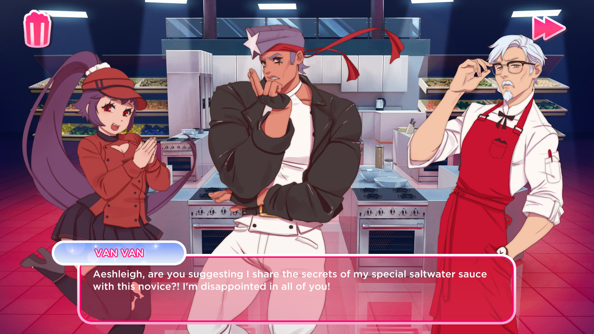 KFC actually is publishing a dating sim on steam