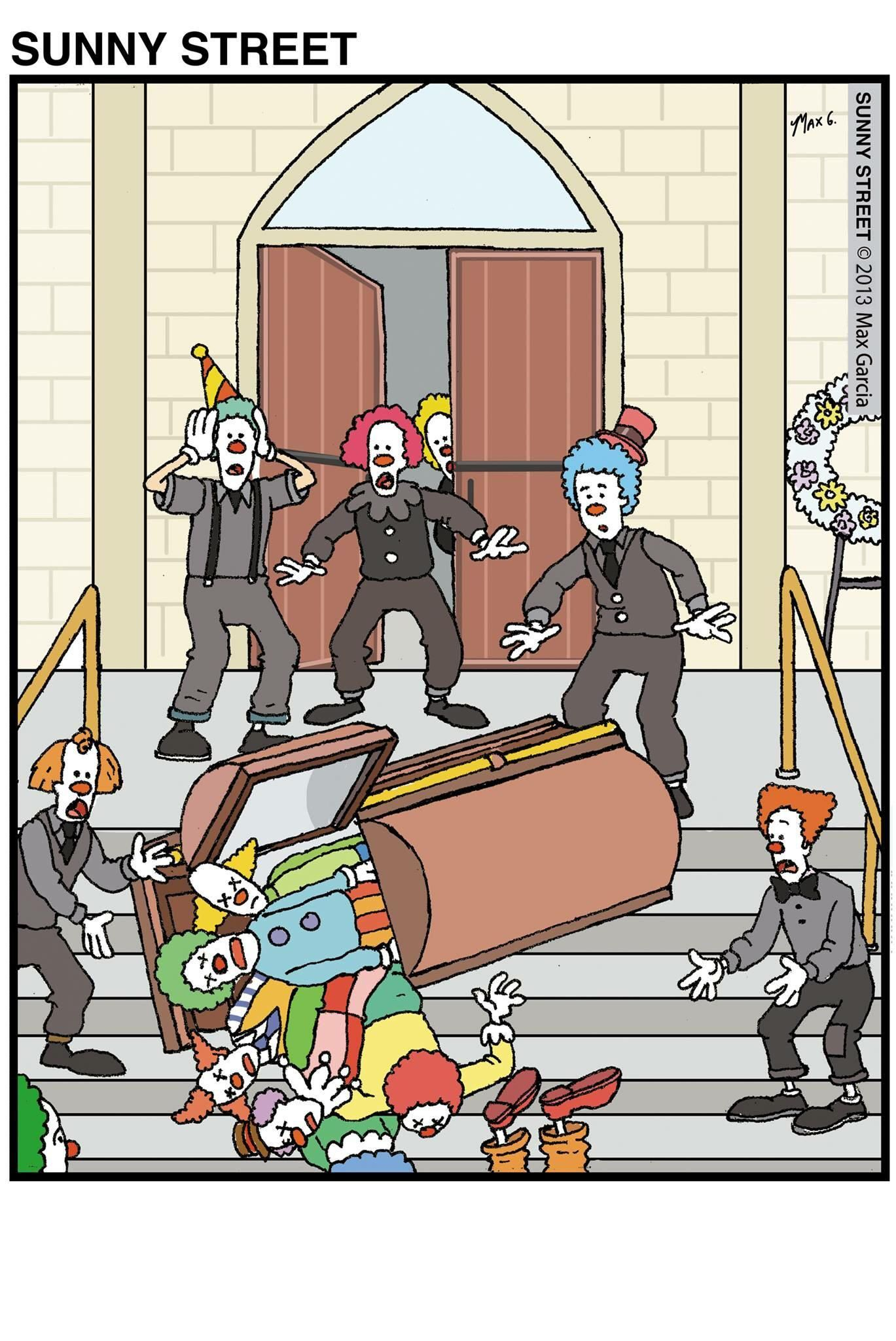 How many clown can you fit in there...