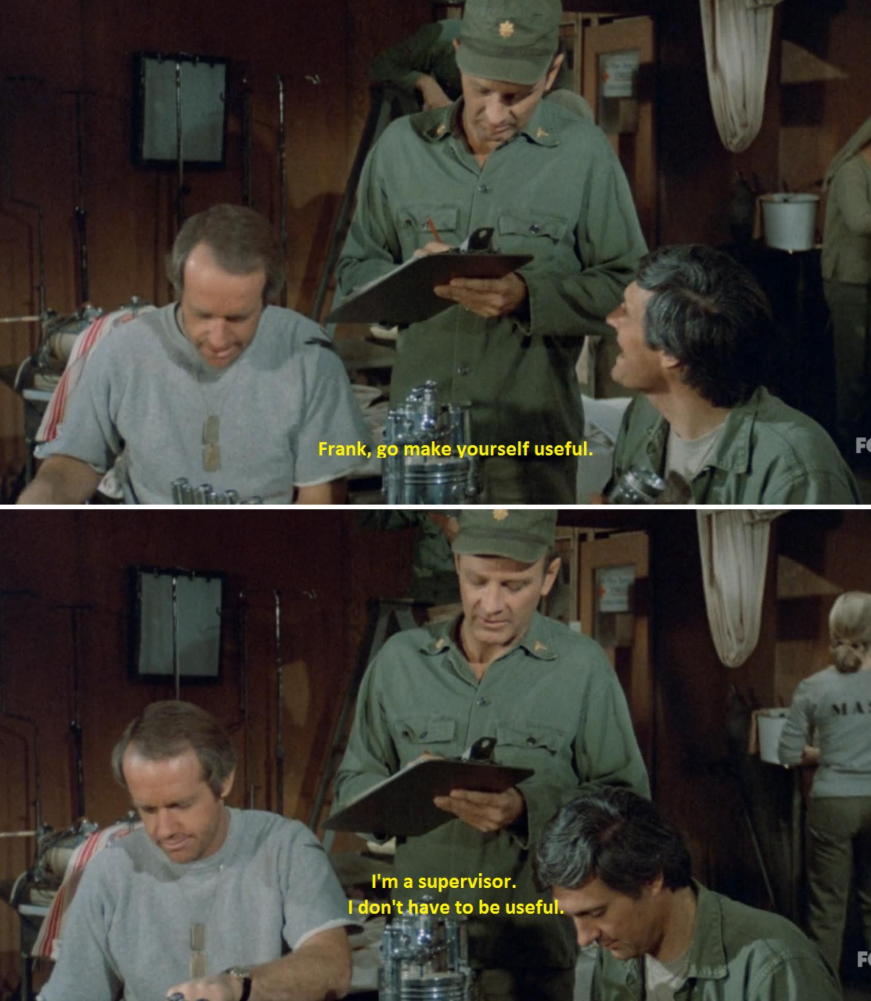 Any Love for M*A*S*H?