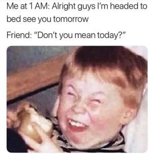 No Karen, I don't!