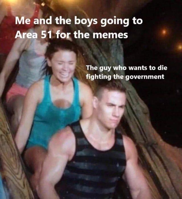 Area 51 raid must not die