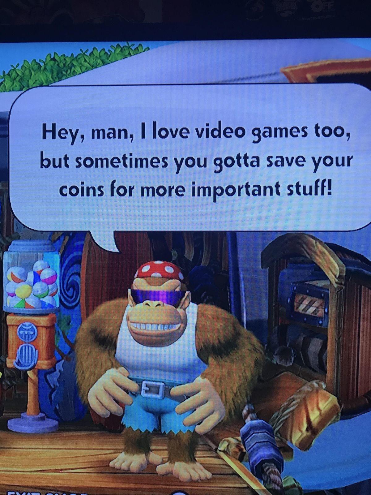 funky kong says