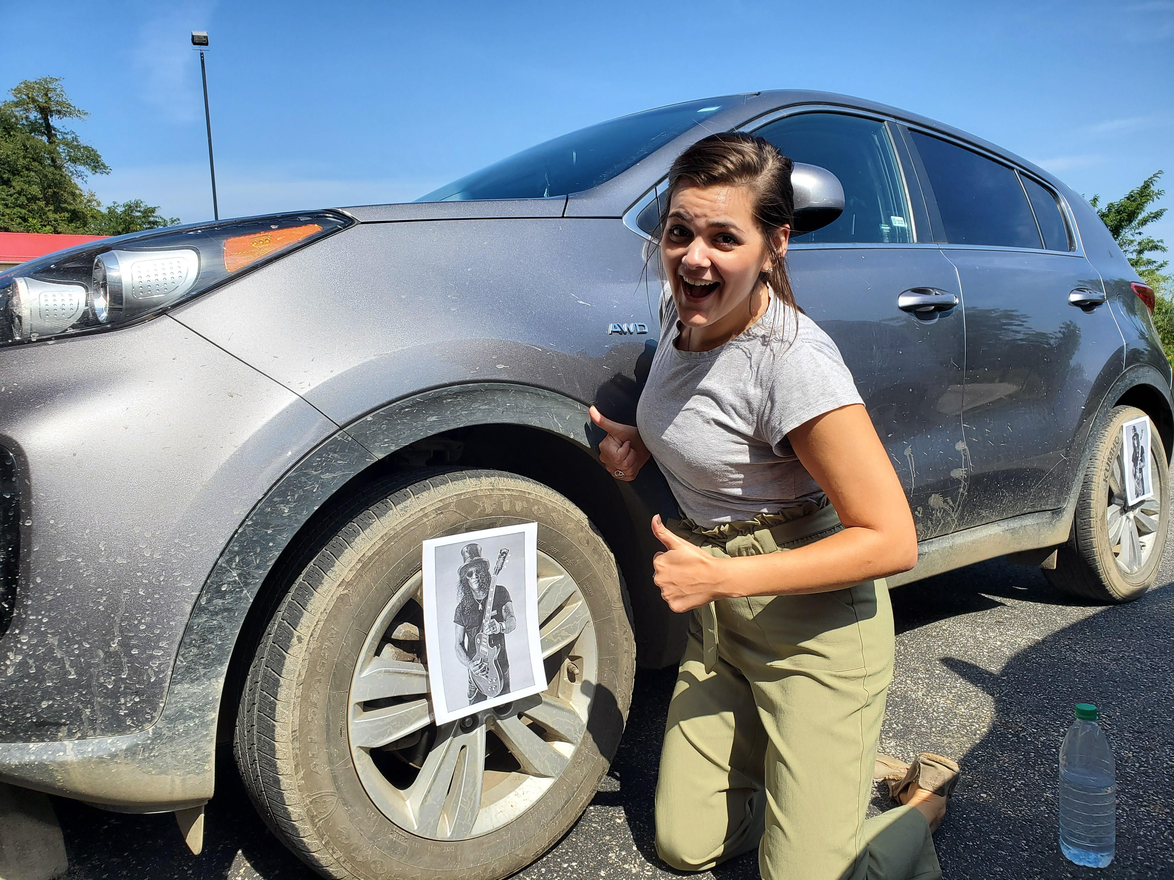 I Slashed My Co-Worker's Tires.