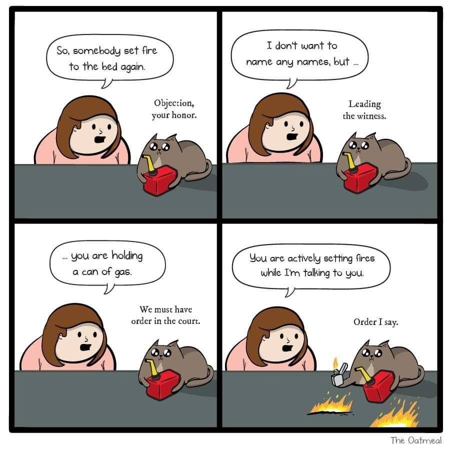 Who's a twisted little firestarter?