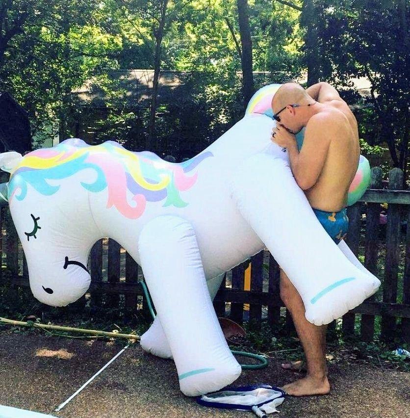 One happy unicorn
