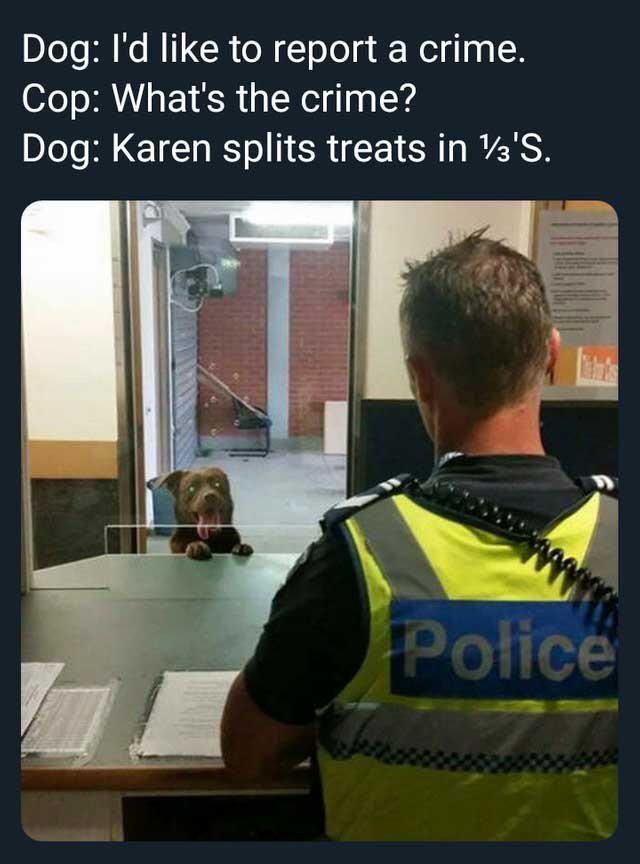 That darn Karen!