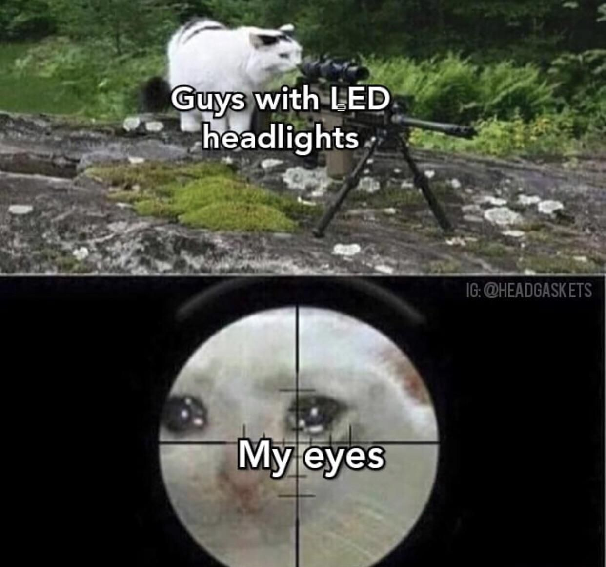 Seriously, I go blind every time